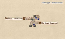 Old Crypt - Scriptorium map