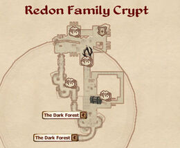 Redon Family Crypt map