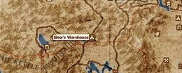 Sinor Warehouse Location