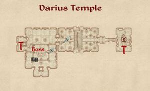 Darius Temple map