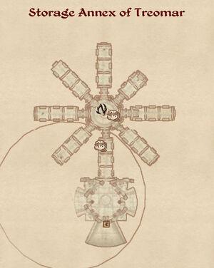 Storage Annex Of Treomar map