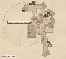 Countess Sapho Tower map