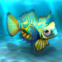 File:FISHR Yellow Mandarinfish.png
