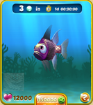 Violet Pajama Fish
