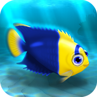 File:FISHR Yellow-Blue Bicolor Angelfish.png