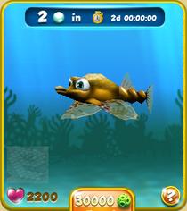 Rare Short Yellow Seamoth