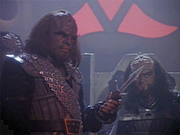 TNG-redemption worf and gowron