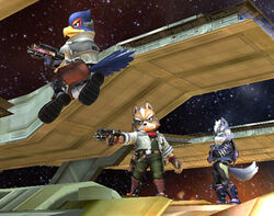 Star Fox Brawl