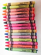 1990-16 Hot Fluorescent Crayons03cropped