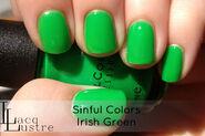 Sinful colors irish green