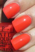 OPI Formidably Orange 1