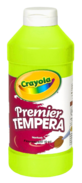 Crayola Premier Tempera Traditional Chartreuse Bottle