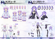 HDN Neptune and Purple Heart concepts