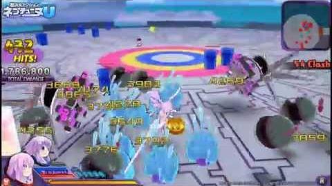 PS Vita「超次元アクション ネプテューヌU」 プレイムービー「ネプギア編」