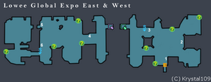 Lowee Global Expo East and West