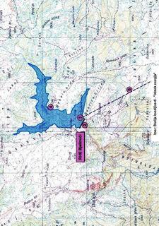 RHE Bjelimici na Visocici - Topo M. brane i jezera iz Nas pogled od Zeleni-N