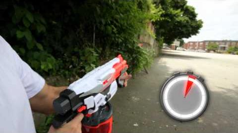 NERF Speed Test of Vortex Pyragon Blaster Toy NERF Nation