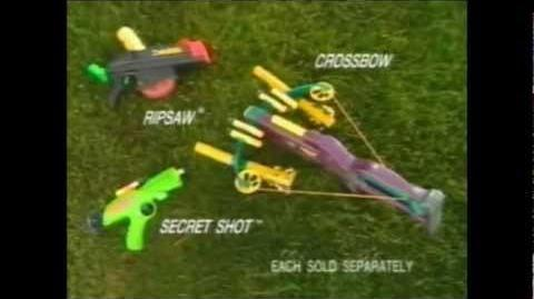 Nerf Crossbow Commercial 1995
