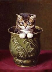 Decanter of endless kittens