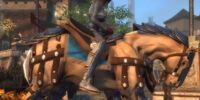 Medium Palomino Horse