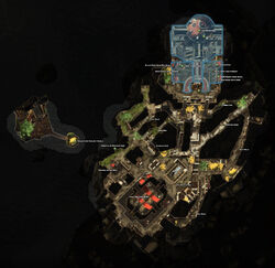 Map Hall of Justice