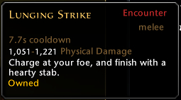 Lunging Strike