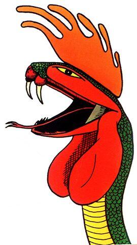 File:Crowing crested cobra, colour, Dr Karl Shuker.jpg