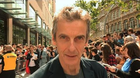 World tour launch event in Cardiff - Doctor Who Series 8 2014 - BBC One