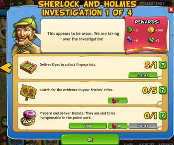 Sherlock and Holmes 1 of 4