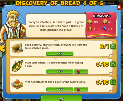 Discovery of bread 4 of 5