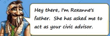 Roxanne's Dad
