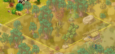 Picturesque Glade map
