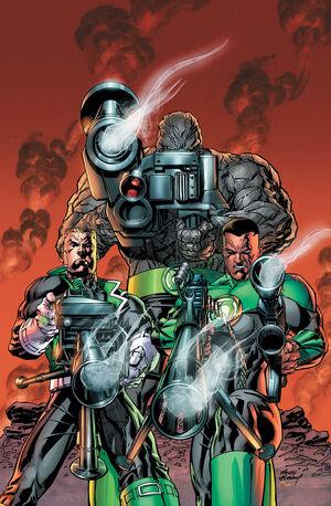 Green Lantern Corps 6 Textless