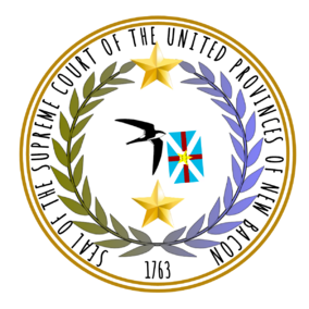Seal of the Supreme Court of New Bacon