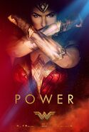 Wonder Woman Power Poster