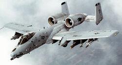 A-10 Thunderbolt II In-flight-2