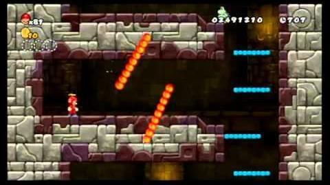 Newer Super Mario Bros. Wii 100% World 3 - Mushroom Peaks