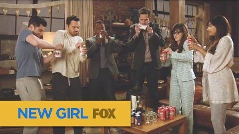 """NEW GIRL True American First lady Edition from """"Wedding Eve"""" FOX BROADCASTING"""