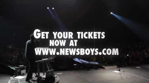 NEWSBOYS THE BORN AGAIN VIP EXPERIENCE 2011
