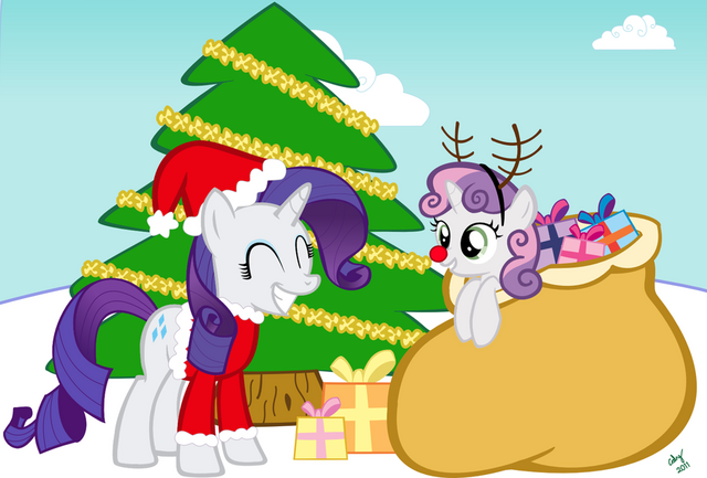 File:Christmas-With-Rarity-and-Sweetie-Belle-my-little-pony-friendship-is-magic-27843655-900-609.png