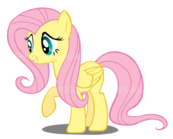 File:Fluttershy vector by kitty ham-d3i8bt7.png