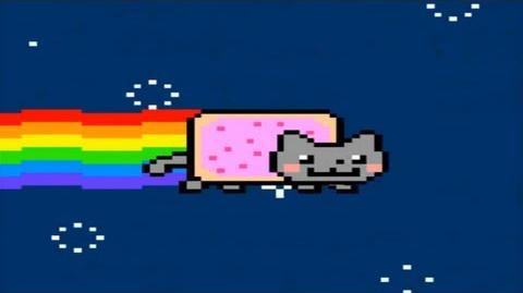 Nyan Cat 10 hours HD 1080p