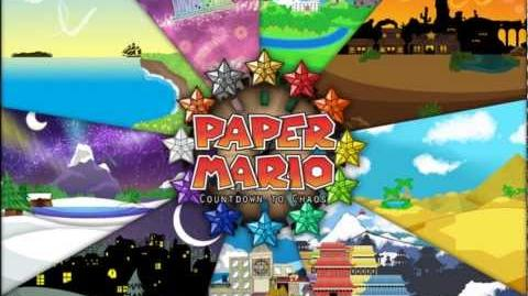 Paper Mario Wii U Fanmade Music Temple Atop the Clouds