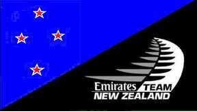 New Zealand Team Emirates Flag - Heath Woodcock