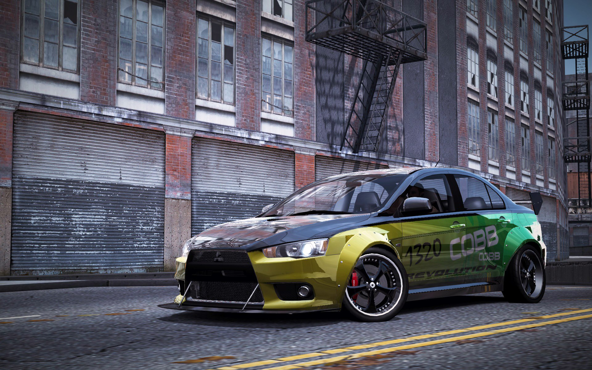 image carrelease mitsubishi lancer evolution x nfs world wiki fandom. Black Bedroom Furniture Sets. Home Design Ideas