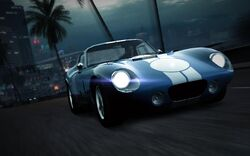 CarRelease Shelby Cobra Daytona Coupe Blue