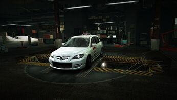 Garage Mazda Mazdaspeed 3 Pizza Special