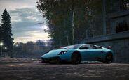 CarRelease Lamborghini Murciélago LP 670-4 Super Veloce Blue 4