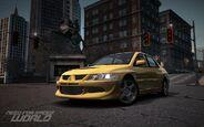 CarRelease Mitsubishi Lancer Evolution VIII Yellow 2