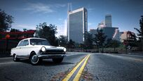 CarRelease Ford Lotus Cortina White 2